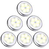 ORIA Bewegungsmelder Licht, 6 LED Nachtlicht mit Bewegungsmelder