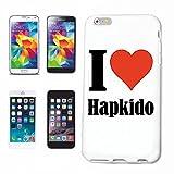 Handyhülle iPhone 7 I Love Hapkido Hardcase Schutzhülle Handycover Smart Cover für Apple iPhone … in Weiß … Schlank und schön, das ist unser HardCase. Das Case Wird mit Einem klick auf deinem Smartph