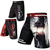 FOX-FIGHT Fist Punch MMA Fight Hosen Short Muay Thai Kickboxen UFC Kampfsport Boxen Training L