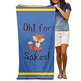 Oh für Fox Sake Erwachsene Baumwolle Strandtuch 78,7x 129,5cm