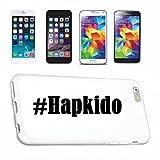 Handyhülle Samsung S8+ Plus Galaxy Hashtag #Hapkido im Social Network Design Hardcase Schutzhülle Handycover Smart Cover für Samsung Galaxy Smartphone in Weiß Schlank und schön, das ist unser HardCas