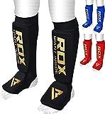 RDX Schienbeinschoner Boxen MMA Schienbeinschutz Kampfsport Kickboxen Schienbein Schienbeinschützer Beinschützer (MEHRWEG)