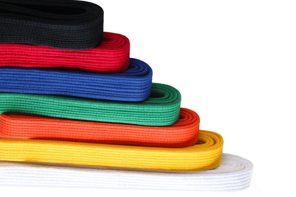 Karate Gürtelfarben