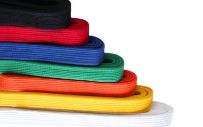 Kickboxen Gürtel: Gürtelfarben | Inhalte Gürtelprüfung | Gürtel kaufen