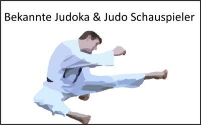 Bekannte Judokas & Judo Schauspieler