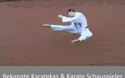 Bekannte Karateka und Karate Schauspieler