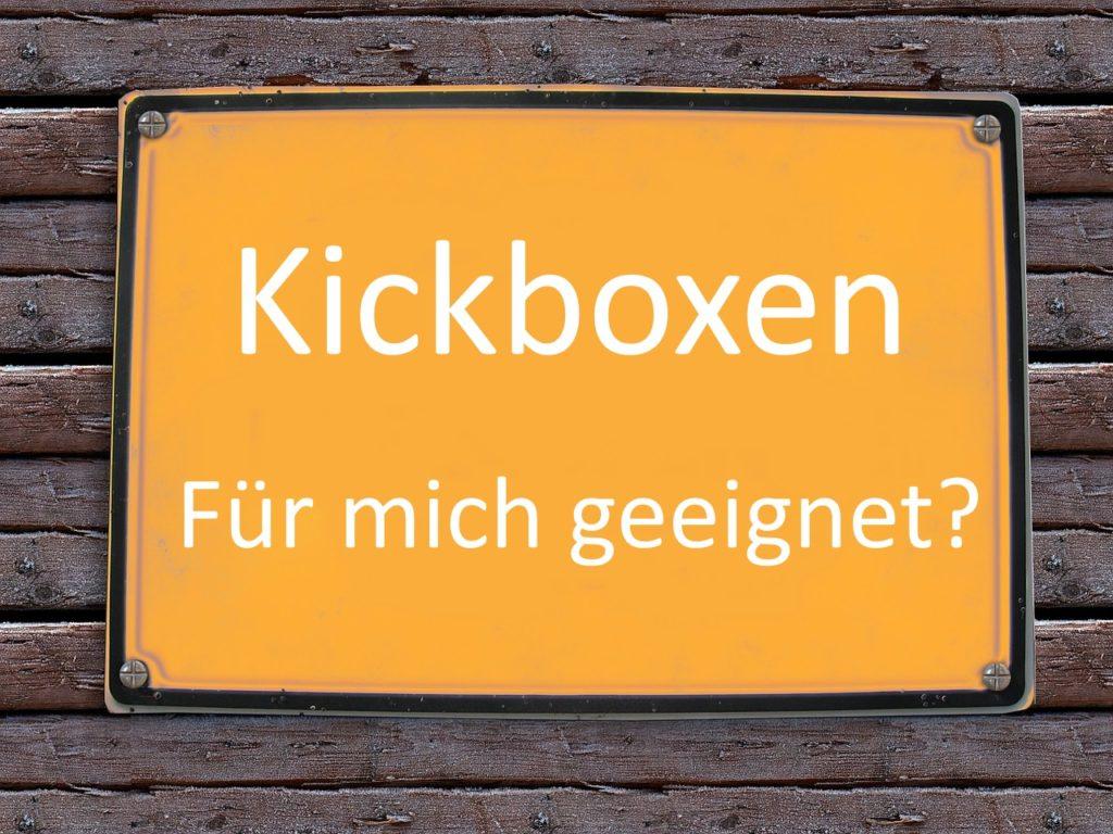 Eignung Kickboxen