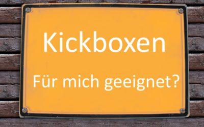 Für wen ist Kickboxen geeignet?