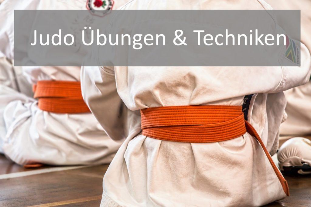 Judo Übungen und Techniken