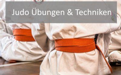 Judo Übungen und Techniken für zuhause