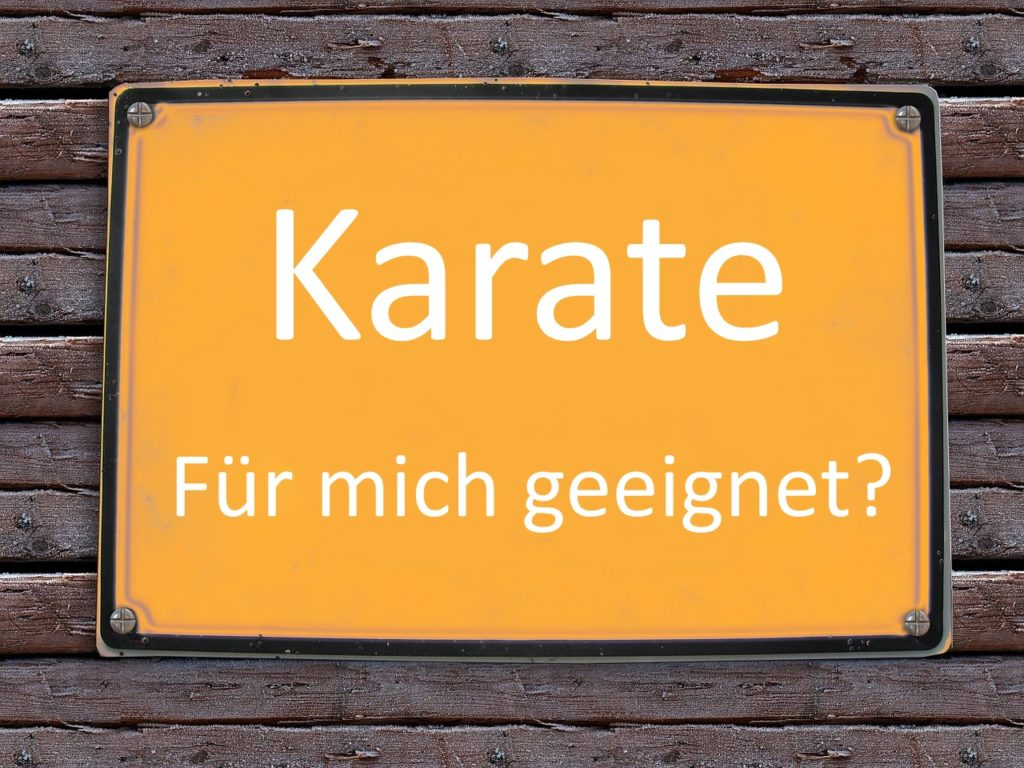 Karate Eignung