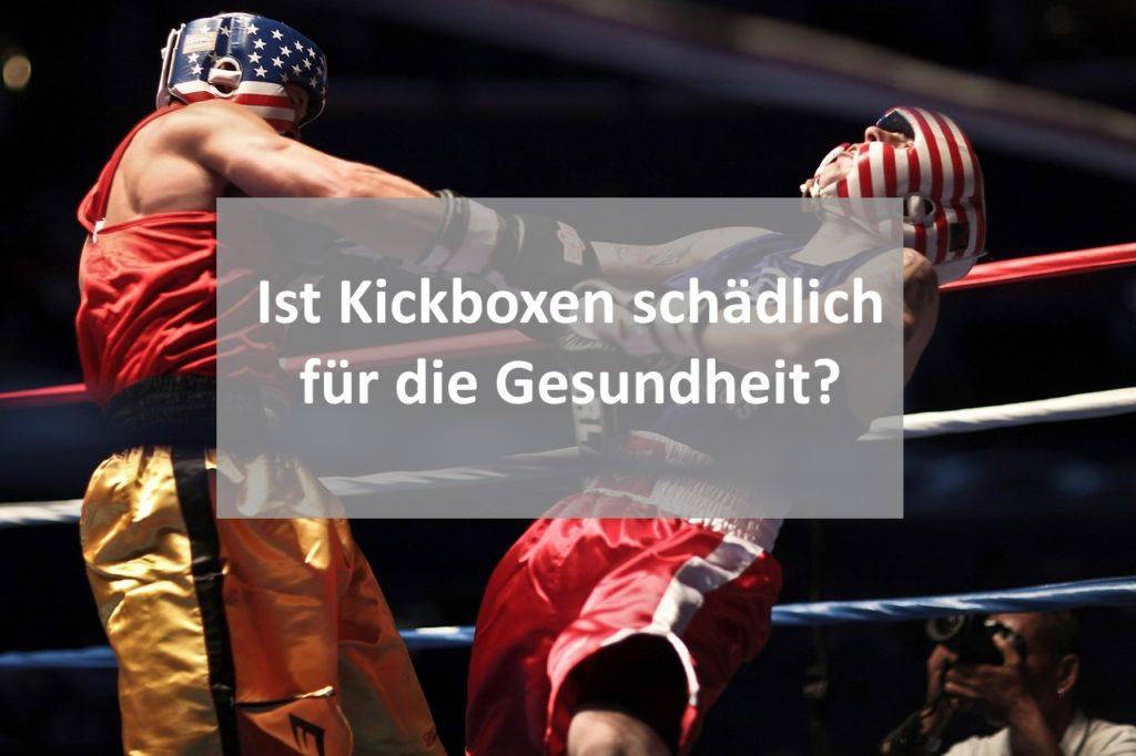 Kickboxen Gesundheit