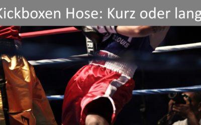 Kickboxen Hose: Angebote und FAQ zur Kickboxhose