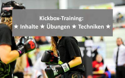Kickboxen Training: Typischer Ablauf eines Trainings