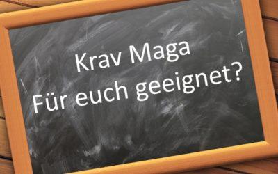 Für wen ist Krav Maga geeignet?