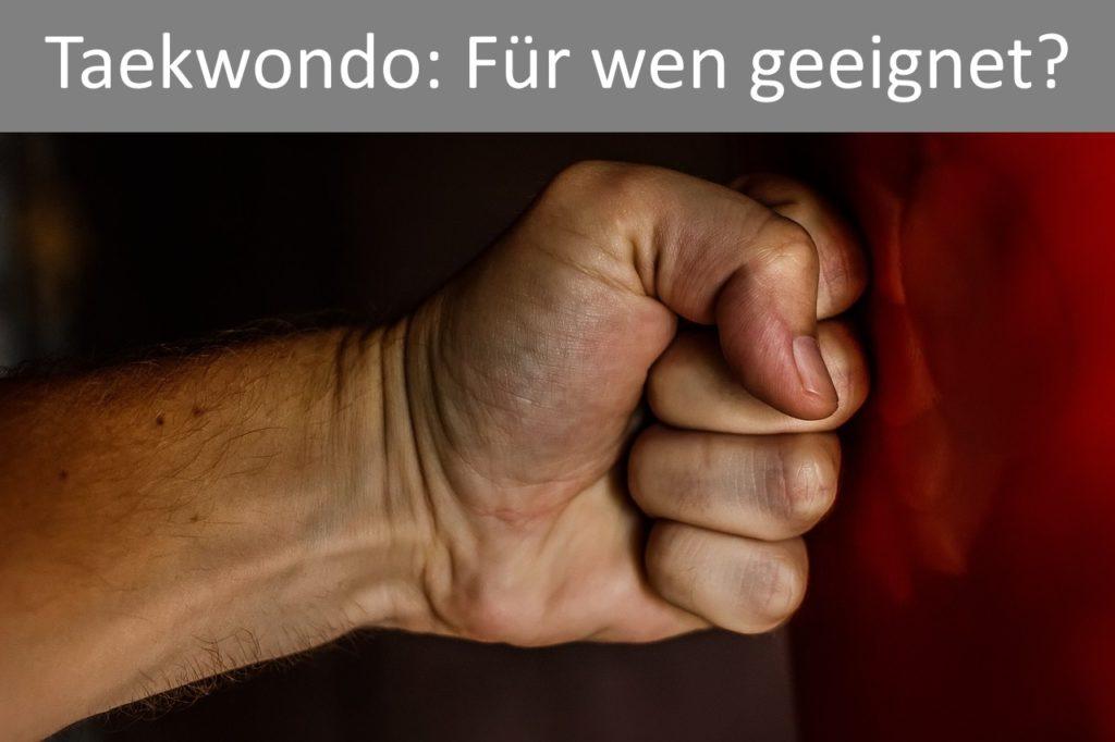 Taekwondo Eignung