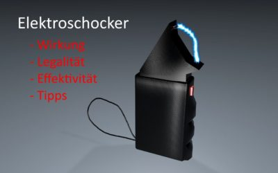 Elektroschocker – Viehtreiber mit PTB Siegel zur Selbstverteidigung