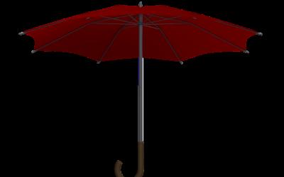 Selbstverteidigungsschirm: Regenschirm zur Verteidigung