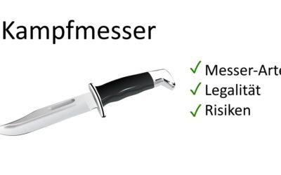 Messer zur Verteidigung: Arten | Legalität | Tipps & Risiken