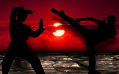 Bruchtests im Kampfsport mit Bruchtestbrettern
